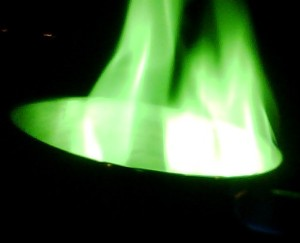 Green Fire (Eric Helmenstine)