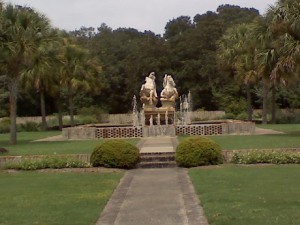 Sculpture at Brookgreen Gardens