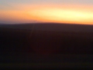 Sunrise in the Sandhills