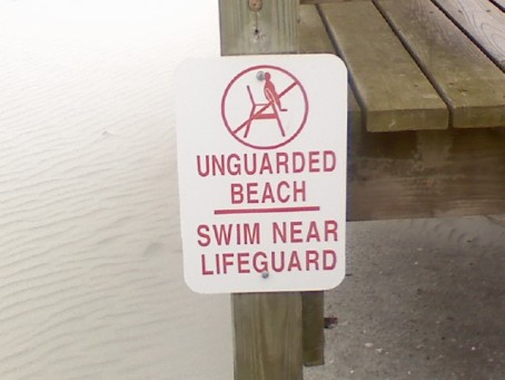 No Swimming?