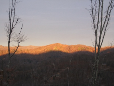 Sunrise on Wolf Mountain