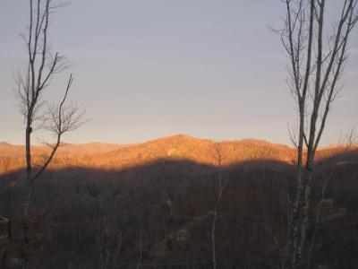 Sunrise on Wolf Mountain