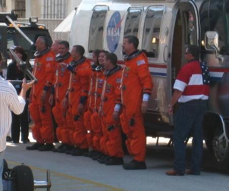 Atlantis STS-125 Crew Walkout