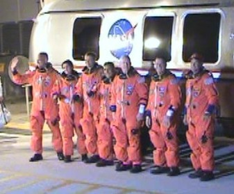 Astronauts for STS-128