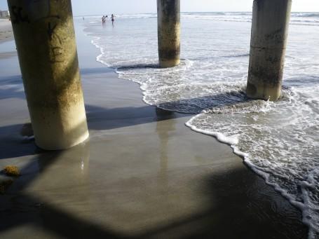 Under the Cocoa Beach Pier