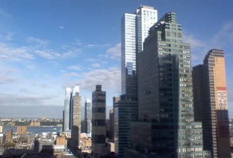 View from the NYT Building