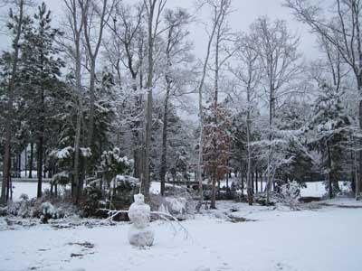 Myrtle Beach Snowman