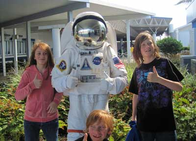 Kids at NASA KSC