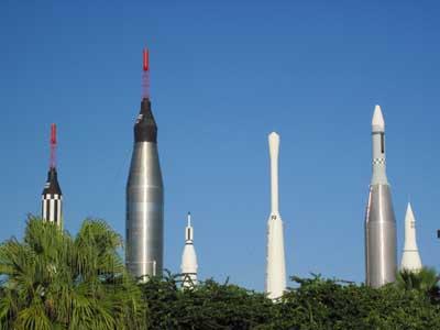 Rocket Garden at KSC