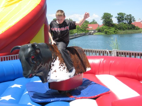 Mechanical Bull Riding in Myrtle Beach
